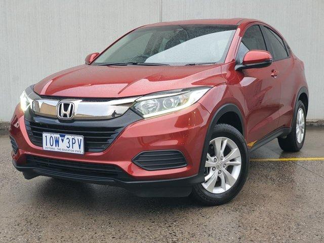 Used Honda HR-V MY19 VTi Oakleigh, 2019 Honda HR-V MY19 VTi Red 1 Speed Constant Variable Hatchback