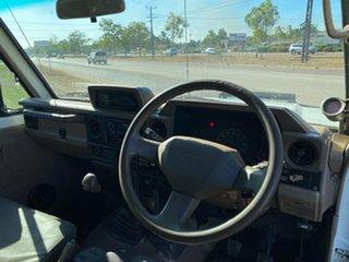 1998 Toyota Landcruiser HZJ75RV Troopcarrier White 5 Speed Manual Hardtop