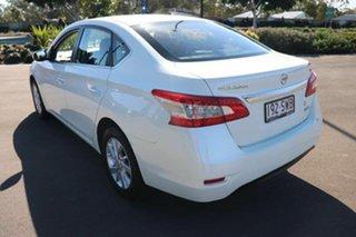 2012 Nissan Pulsar B17 ST White 1 Speed Constant Variable Sedan