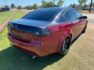 2009 Holden Commodore VE MY09.5 Omega Red 4 Speed Automatic Sedan