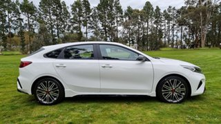 2021 Kia Cerato BD MY22 GT DCT Clear White 7 Speed Automatic Hatchback