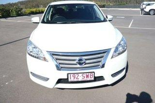 2012 Nissan Pulsar B17 ST White 1 Speed Constant Variable Sedan.