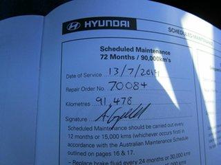 2010 Hyundai Getz TB MY09 SX Black 4 Speed Automatic Hatchback