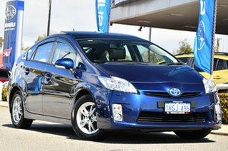 2011 Toyota Prius ZVW30R I-Tech Blue 1 Speed Constant Variable Liftback Hybrid.