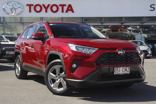 Pre-Owned Toyota RAV4 Mxaa52R GXL 2WD Upper Mount Gravatt, 2019 Toyota RAV4 Mxaa52R GXL 2WD Atomic Rush 10 Speed Constant Variable Wagon
