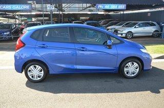 2019 Honda Jazz GK MY19 VTi Blue Continuous Variable Hatchback.