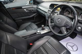 2010 Mercedes-Benz E-Class W212 E63 AMG SPEEDSHIFT MCT Obsidian Black 7 Speed Sports Automatic Sedan.