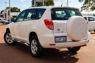 2008 Toyota RAV4 ACA33R MY08 CV White 4 Speed Automatic Wagon.