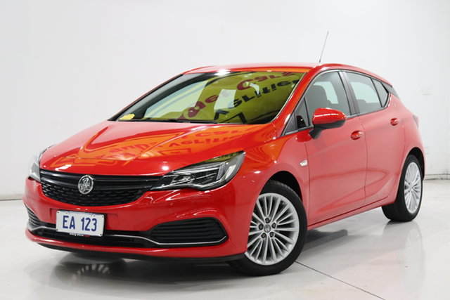 Used Holden Astra BK MY18.5 R+ Brooklyn, 2018 Holden Astra BK MY18.5 R+ Red 6 Speed Sports Automatic Hatchback