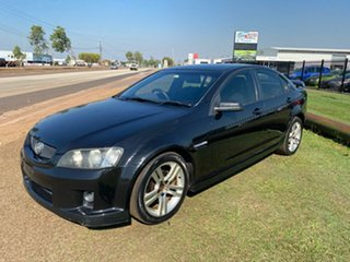 2007 Holden Commodore VE SV6 Black 5 Speed Sports Automatic Sedan.