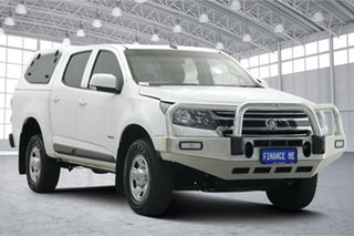 2017 Holden Colorado RG MY18 LS Pickup Crew Cab White 6 Speed Sports Automatic Utility.