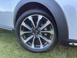 2019 Mazda CX-3 DK2W7A sTouring SKYACTIV-Drive FWD Snowflake White 6 Speed Sports Automatic Wagon.