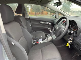 2011 Toyota Corolla ZRE152R MY11 Ascent Silver 6 Speed Manual Hatchback