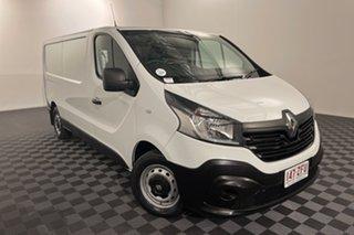 2019 Renault Trafic X82 85kW Low Roof LWB White 6 speed Manual Van.