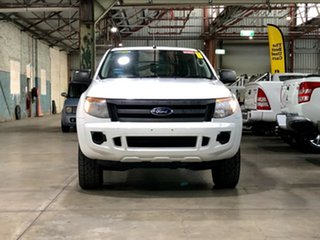 2012 Ford Ranger PX XL White 6 Speed Sports Automatic Utility.