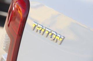 2019 Mitsubishi Triton MR MY20 GLS Double Cab Premium White Solid 6 Speed Sports Automatic Utility