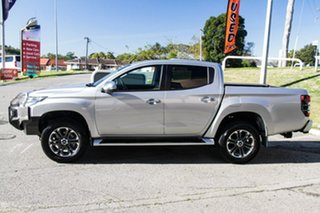 2021 Mitsubishi Triton MR MY22 GLS Double Cab Sterling Silver 6 Speed Sports Automatic Utility.