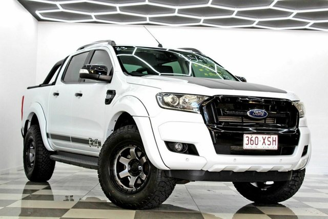 Used Ford Ranger PX MkII MY18 FX4 Special Edition Burleigh Heads, 2017 Ford Ranger PX MkII MY18 FX4 Special Edition White 6 Speed Automatic Double Cab Pick Up