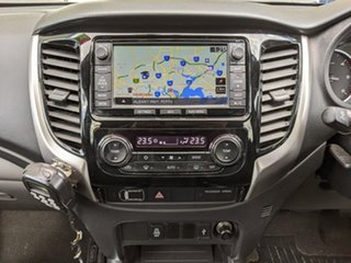 2016 Mitsubishi Triton MQ MY17 Exceed Double Cab Grey 5 Speed Sports Automatic Utility