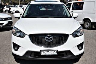 2014 Mazda CX-5 KE1031 MY14 Akera SKYACTIV-Drive AWD White 6 Speed Sports Automatic Wagon.