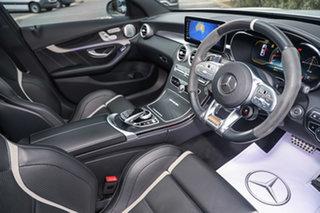 2019 Mercedes-Benz C-Class W205 809MY C63 AMG SPEEDSHIFT MCT S Iridium Silver 9 Speed.