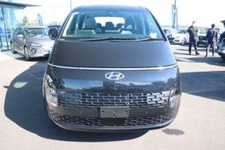 2021 Hyundai Staria US4.V1 MY22 Highlander AWD Moonlight Blue 8 Speed Sports Automatic Wagon.