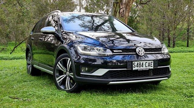 Used Volkswagen Golf 7.5 MY18 Alltrack DSG 4MOTION 132TSI Premium Nuriootpa, 2018 Volkswagen Golf 7.5 MY18 Alltrack DSG 4MOTION 132TSI Premium Black 6 Speed