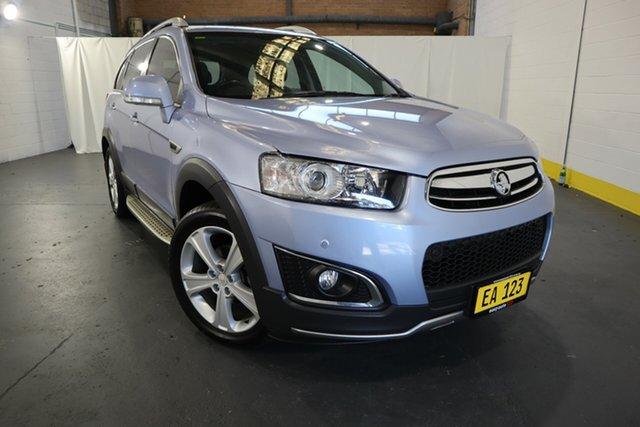 Used Holden Captiva CG MY15 7 AWD LTZ Castle Hill, 2015 Holden Captiva CG MY15 7 AWD LTZ Blue 6 Speed Sports Automatic Wagon