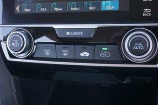 2016 Honda Civic 9th Gen Ser II MY15 VTi-S White 5 Speed Sports Automatic Sedan
