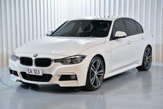 2016 BMW 3 Series F30 LCI 330e Sport Line White 8 Speed Sports Automatic Sedan Hybrid.