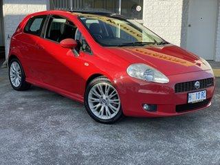 2007 Fiat Punto Dynamic Red 6 Speed Manual Hatchback.