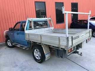 2011 Mazda BT-50 UNY0E4 DX+ Freestyle Blue 5 Speed Manual Cab Chassis.