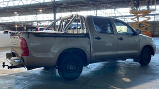 2006 Toyota Hilux TGN16R MY05 Workmate 4x2 Brown 5 Speed Manual Utility