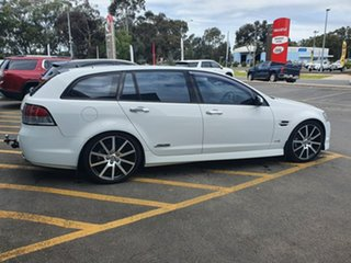 2012 Holden Commodore VE II MY12 SS Sportwagon White 6 Speed Sports Automatic Wagon