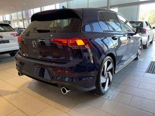 2021 Volkswagen Golf 8 MY21 GTI DSG Atlantic Blue 7 Speed Sports Automatic Dual Clutch Hatchback.
