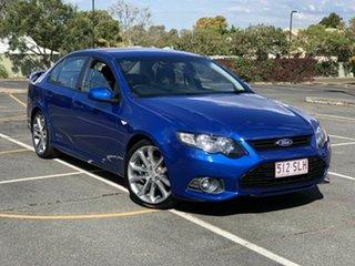 2012 Ford Falcon FG MkII XR6 Limited Edition Blue 6 Speed Manual Sedan.