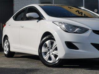 2011 Hyundai Elantra MD Active Ceramic White 6 Speed Sports Automatic Sedan.