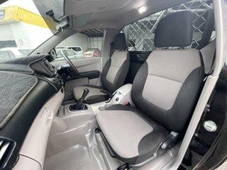2014 Mitsubishi Triton MN MY15 GL 4x2 Black 5 Speed Manual Cab Chassis.