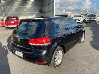 2012 Volkswagen Golf VI MY12.5 90TSI DSG Trendline Black 7 Speed Sports Automatic Dual Clutch