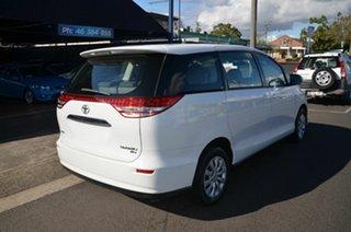 2007 Toyota Tarago ACR50R GLi White 4 Speed Automatic Wagon.