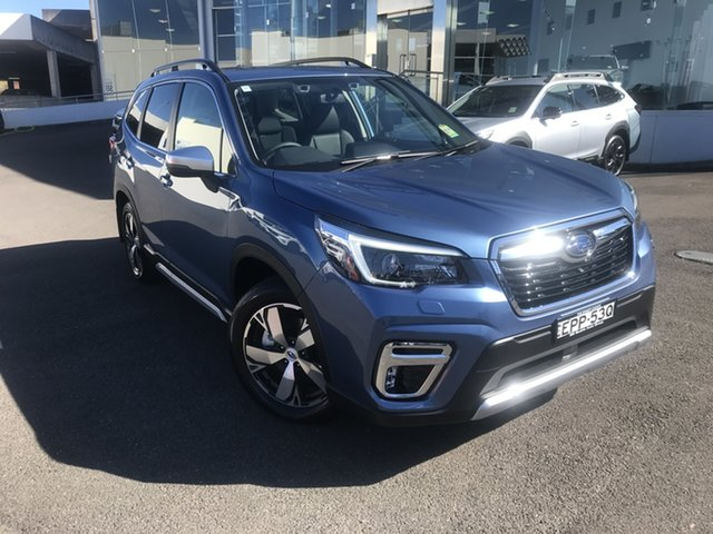 Demo Subaru Forester S5 MY21 2.5i-S CVT AWD Brookvale, 2021 Subaru Forester S5 MY21 2.5i-S CVT AWD Horizon Blue 7 Speed Constant Variable Wagon