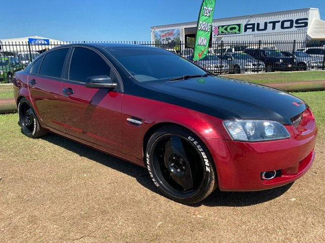 Used Holden Commodore VE MY09.5 Omega Berrimah, 2009 Holden Commodore VE MY09.5 Omega Red 4 Speed Automatic Sedan