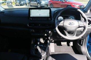 2021 Hyundai Kona Os.v4 MY21 Highlander 2WD Surfy Blue Black Roof 8 Speed Constant Variable Wagon