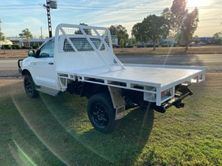 2007 Toyota Hilux KUN26R MY07 SR White 5 Speed Manual Cab Chassis