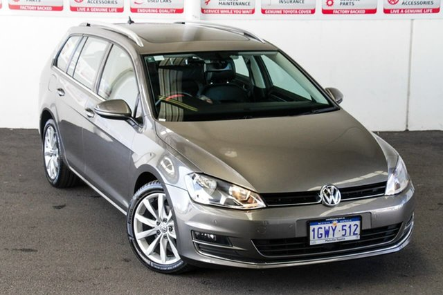 Pre-Owned Volkswagen Golf AU MY14 103 TSI Highline Myaree, 2014 Volkswagen Golf AU MY14 103 TSI Highline Grey 7 Speed Auto Direct Shift Wagon