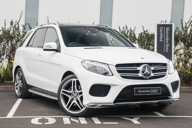Certified Pre-Owned Mercedes-Benz GLE-Class W166 MY808+058 GLE350 d 9G-Tronic 4MATIC Mulgrave, 2018 Mercedes-Benz GLE-Class W166 MY808+058 GLE350 d 9G-Tronic 4MATIC Polar White 9 Speed