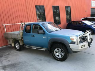 2011 Mazda BT-50 UNY0E4 DX+ Freestyle Blue 5 Speed Manual Cab Chassis