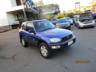 1999 Toyota RAV4 (4x4) Blue 5 Speed Manual 4x4 Hardtop.
