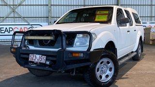2006 Nissan Navara D40 RX White 5 Speed Automatic Utility.