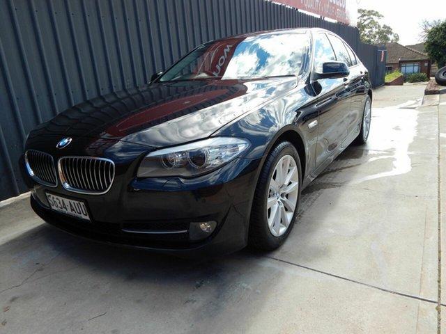 Used BMW 5 Series F10 MY0911 520d Steptronic Blair Athol, 2012 BMW 5 Series F10 MY0911 520d Steptronic Black 8 Speed Sports Automatic Sedan